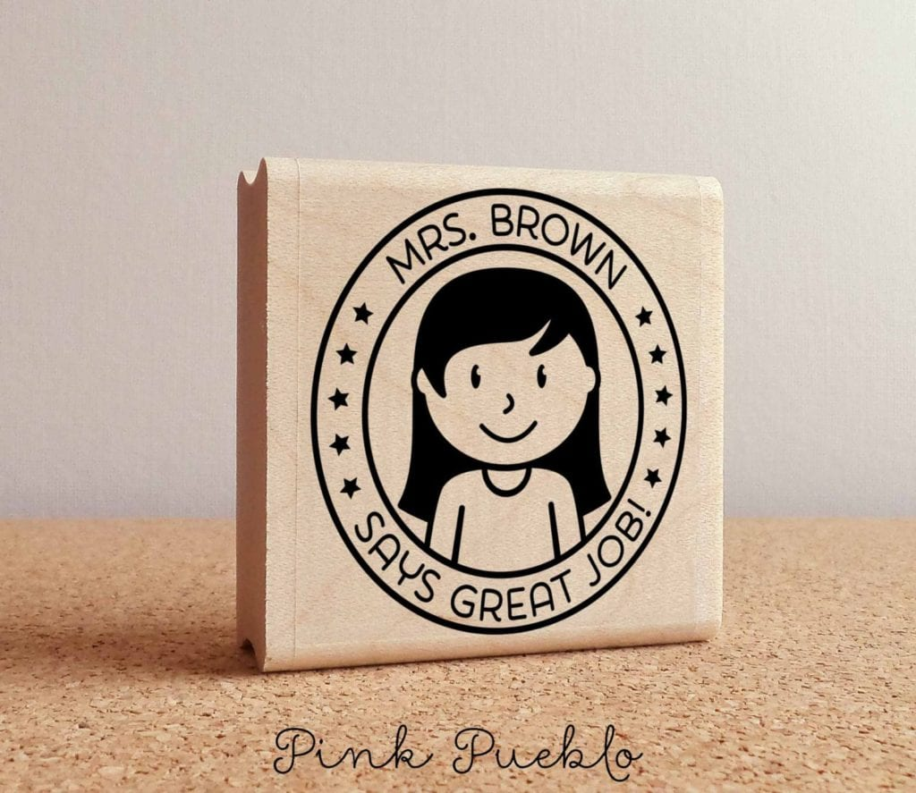 custom teacher stamps