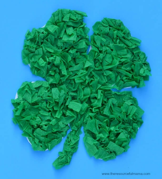 St. Patrick's Day Class Party Craft Idea