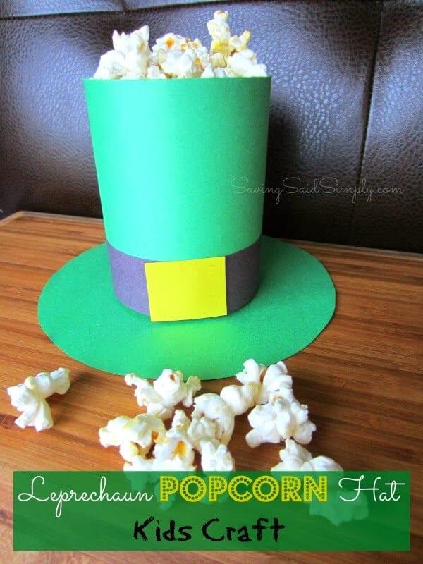 St. Patrick's Day Class Party Crafts & Snacks