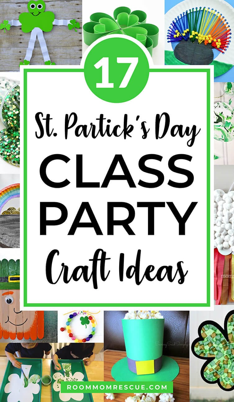 Class Party Crafts for St. Patrick's Day