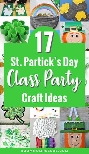 17 Class Party Crafts for St. Patrick's Day
