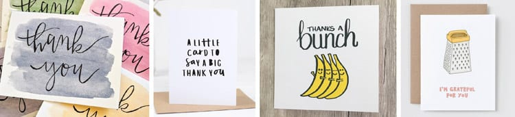 Room Mom Thank You Cards