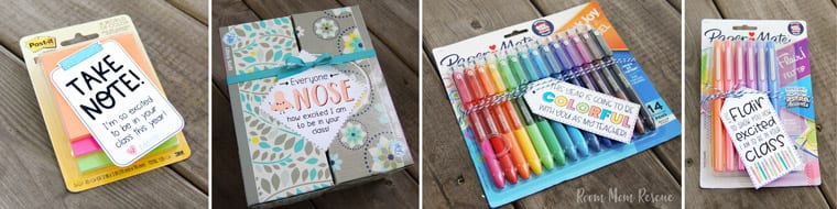 back to school ideas for teacher gifts