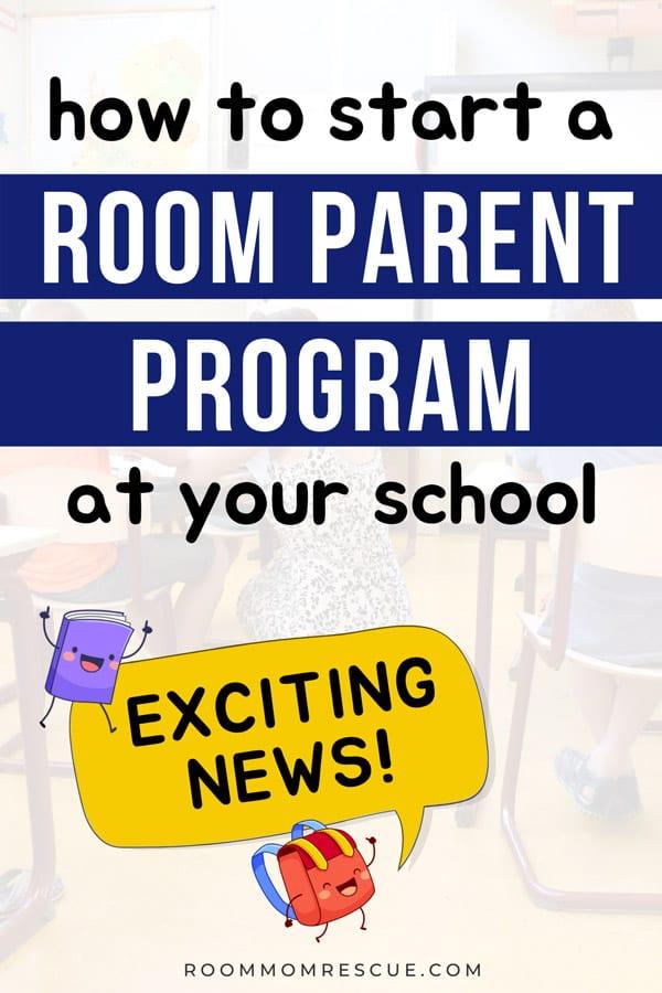 room parent program