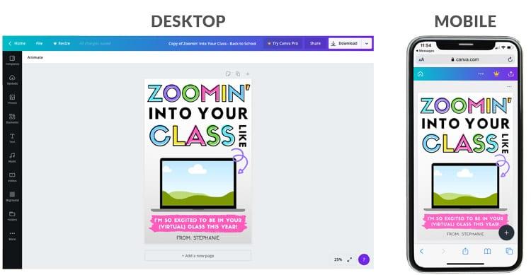back to school virtual teacher gift card