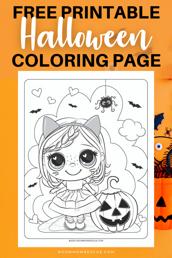 free printable halloween coloring pages for kids cute