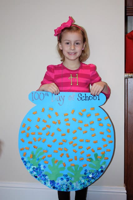 100 days of school poster project